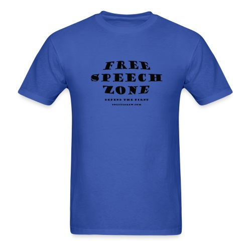 Free Speech Zone - Men's T-Shirt