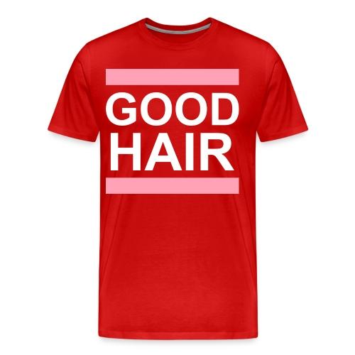 GOOD hair tee (Plus) - Men's Premium T-Shirt