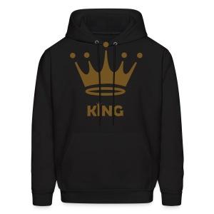 King Hoodie - Men's Hoodie