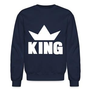 KING Crew Neck - Crewneck Sweatshirt