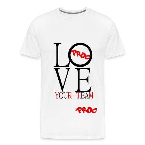 Love Your Team - Men's Premium T-Shirt