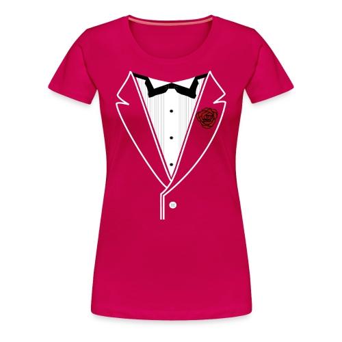 Classy Gal Premium w/ White Lines - Women's Premium T-Shirt