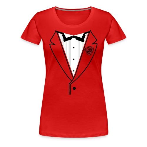 Classy Gal Premium w/Black Lines - Women's Premium T-Shirt