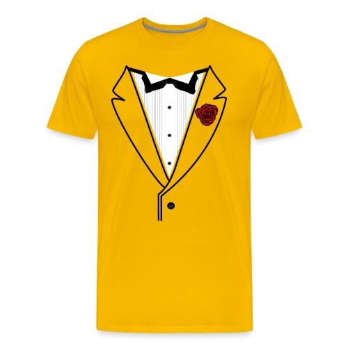 Classy Fella Premium w/Black Lines - Men's Premium T-Shirt