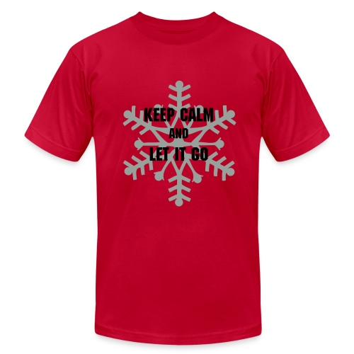 Keep Calm and Let It Go - Men's  Jersey T-Shirt