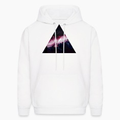 triangle galaxy Hoodies