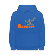 Sweatshirts ~ Kids' Hoodie ~ Spirit of Detroit