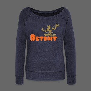 Spirit of Detroit - Women's Wideneck Sweatshirt