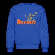 Long Sleeve Shirts ~ Crewneck Sweatshirt ~ Spirit of Detroit
