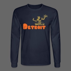 Spirit of Detroit - Men's Long Sleeve T-Shirt