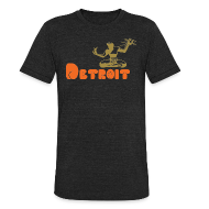 T-Shirts ~ Unisex Tri-Blend T-Shirt ~ Spirit of Detroit
