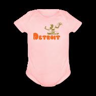 Baby Bodysuits ~ Baby Short Sleeve One Piece ~ Spirit of Detroit