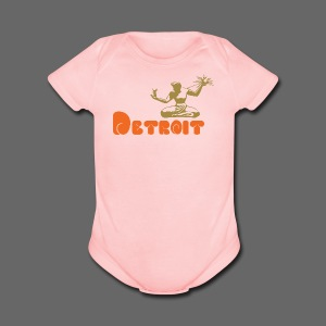 Spirit of Detroit - Short Sleeve Baby Bodysuit
