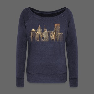I Love This City - Women's Wideneck Sweatshirt