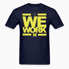 "Michigan Basketball ""We Work"" March Madness Tshirt"