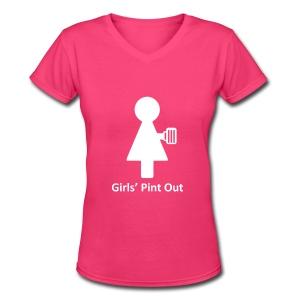 Ladie's V-Neck - Women's V-Neck T-Shirt