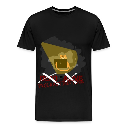 PROCRASTINATING Man T-Shirt - Men's Premium T-Shirt