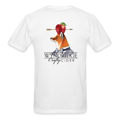 Crafty Cider - Men's White T - Men's T-Shirt