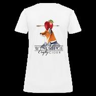 T-Shirts ~ Women's T-Shirt ~ Crafty Cider - Women's White T