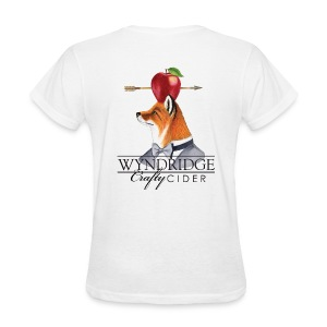 Crafty Cider - Women's White T - Women's T-Shirt