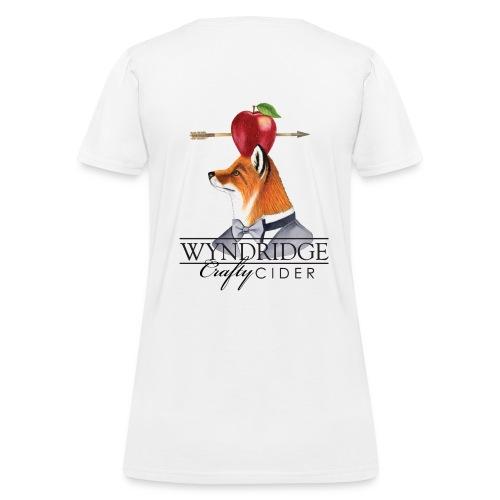 Crafty Cider - Women's White T - Women's T-Shirt