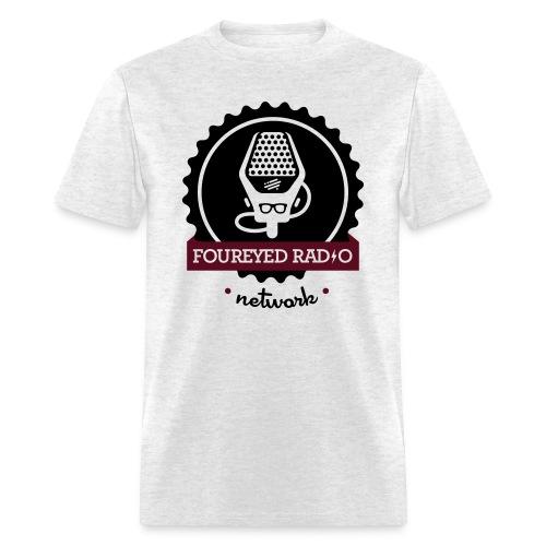 Four Eyed Radio Logo Tee (Light) - Men's T-Shirt