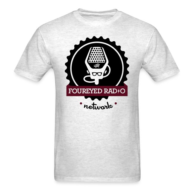 Four Eyed Radio Logo Tee (Light)