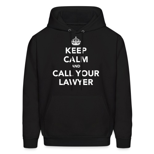Call Your Lawyer - 1 - Men's Hoodie