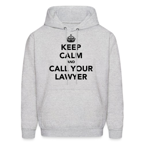 Call Your Lawyer - 2 - Men's Hoodie