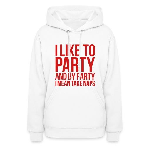 I Like To Nap - Hoody - Women's Hoodie