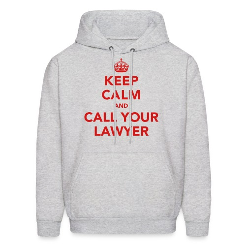 Call Your Lawyer - 3 - Men's Hoodie
