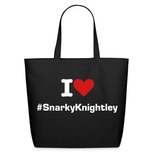 #SnarkyKnightley Tote - Eco-Friendly Cotton Tote