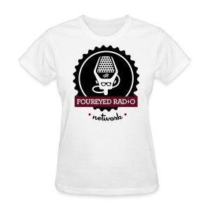 Women's Four Eyed Radio Logo Tee (Light) - Women's T-Shirt