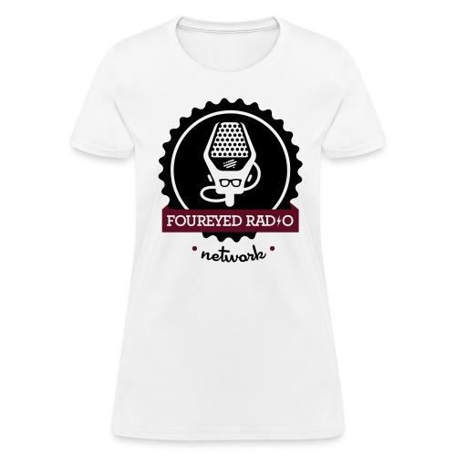 Women's Four Eyed Radio Logo Tee (Light) - Women's T-Shirt