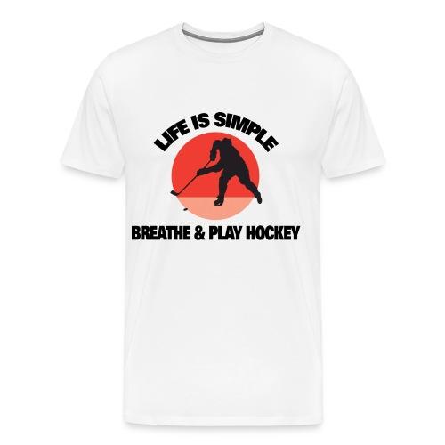 Life is Simple Tee - Men's Premium T-Shirt