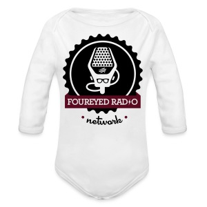 Four Eyed Radio   For Baby - Long Sleeve Baby Bodysuit