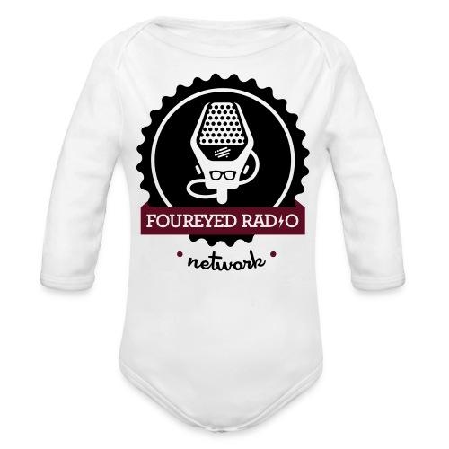 Four Eyed Radio   For Baby - Organic Long Sleeve Baby Bodysuit