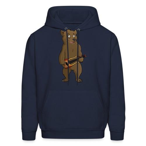 Bear w/ Lute - Men's Hoodie