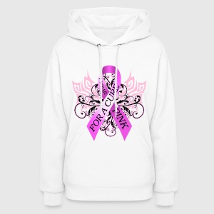 I Wear Pink For A Cure Hoodies - Women's Hoodie