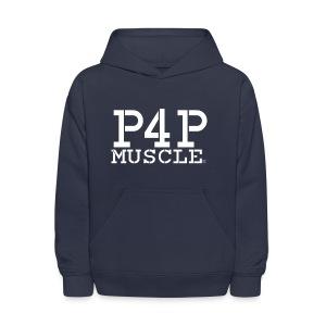 Kid's P4P logo Hooded Sweatshirt - Kids' Hoodie