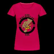 T-Shirts ~ Women's Premium T-Shirt ~ Puro Zacatecas Sax #1 | Dama