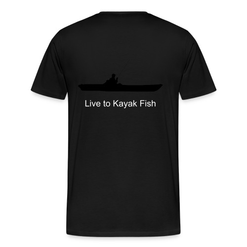 Live to Kayak Fish - Men's Premium T-Shirt