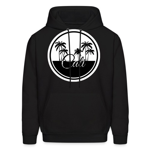 Cali Black & White  - Men's Hoodie
