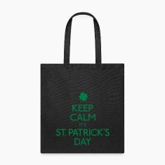 keep calm st. patricks day Bags & backpacks