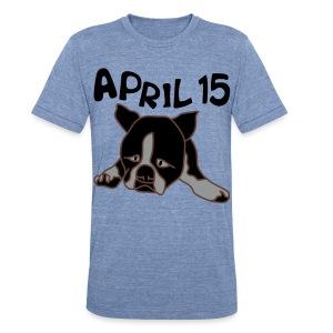April 15 - Unisex Tri-Blend T-Shirt