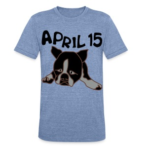 April 15 - Unisex Tri-Blend T-Shirt by American Apparel