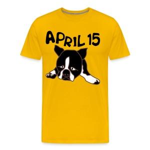 April 15 - Men's Premium T-Shirt