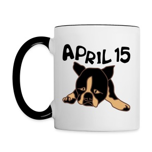 April 15 - Contrast Coffee Mug