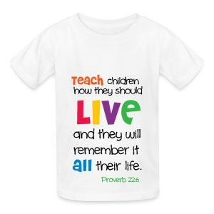 Kid's T-shirt/White - Kids' T-Shirt