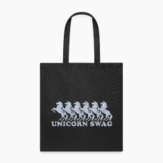 Unicorn Swag w/ Diamonds (Color) Bags & backpacks